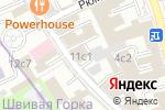 Схема проезда до компании ПромТрансБанк в Москве
