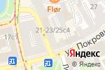 Схема проезда до компании Free Bar в Москве