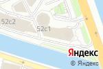 Схема проезда до компании КОМФОРТ.РУ в Москве