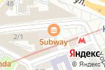 Схема проезда до компании Без Границ в Москве