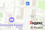 Схема проезда до компании Оксана в Москве