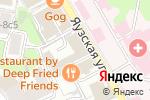 Схема проезда до компании Федеральный таможенный брокер в Москве