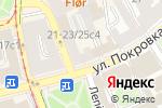 Схема проезда до компании Арабское кафе в Москве