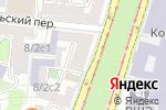 Схема проезда до компании Мастерская колористики Наташи Свечниковой в Москве