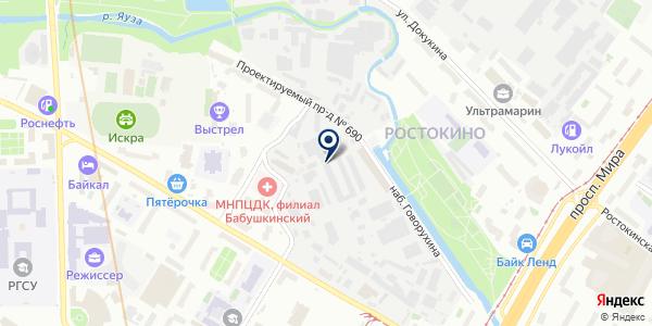 ТФ АКАДЕМФАРМАЦЕВТИКА на карте Москве