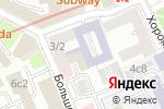 Схема проезда до компании Российская федерация баскетбола в Москве