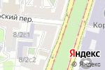 Схема проезда до компании Налоговый партнер в Москве