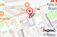 Схема проезда до компании АртЛайн в Москве