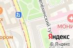 Схема проезда до компании Hulsta в Москве