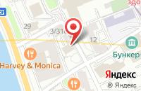 Схема проезда до компании Книгафон в Москве