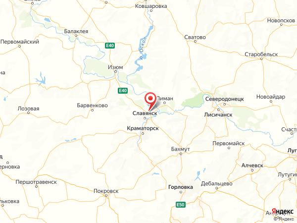 село Карповка на карте