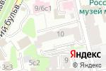 Схема проезда до компании Корпус права в Москве