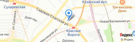 ЮрГазЭнерго на карте Москвы