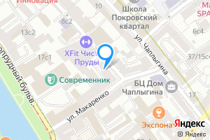 Снять комнату в четырехкомнатной квартире в Москве м. Чистые пруды, улица Жуковского, 16