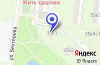 Схема проезда до компании ДК ДРУЖБА в Москве