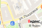 Схема проезда до компании Casting Moscow в Москве