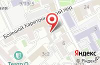 Схема проезда до компании Поликомхолдинг в Москве