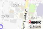 Схема проезда до компании Локо-ЛТД в Москве
