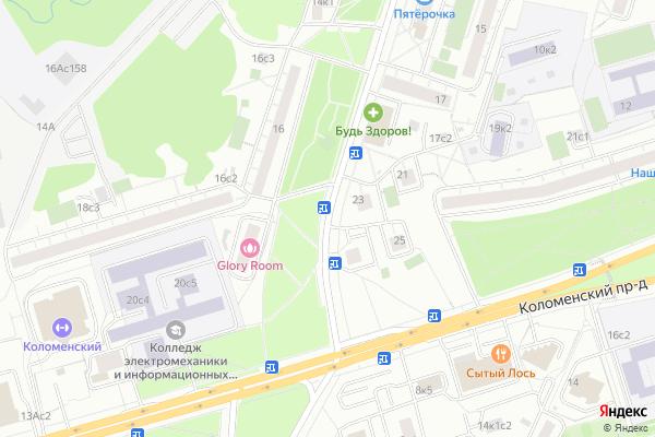 Ремонт телевизоров Улица Академика Миллионщикова на яндекс карте