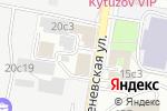 Схема проезда до компании НДбанк в Москве