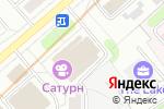 Схема проезда до компании Сатурн в Москве