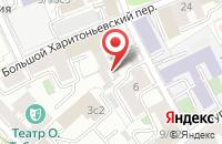 Схема проезда до компании Поликом Холдинг в Москве