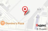 Схема проезда до компании Креативные Строительные Технологии в Москве