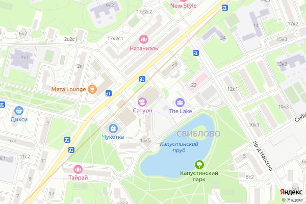 Ремонт телевизоров Район Свиблово на яндекс карте