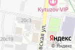 Схема проезда до компании Дилена в Москве