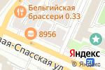 Схема проезда до компании J-mob в Москве