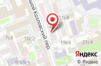 Схема проезда до компании Фортпродакшен в Москве