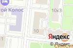 Схема проезда до компании Ласпи-2 в Москве