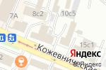Схема проезда до компании Верник и Чевельча в Москве