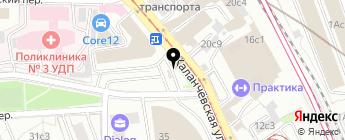 ЕКА на карте Москвы