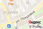 Схема проезда до компании Покровка-АРТ в Москве