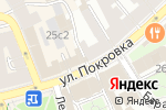 Схема проезда до компании Fusion Promotion в Москве