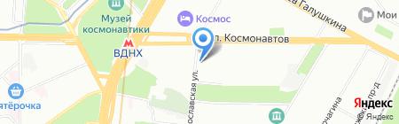 Белый Стандарт на карте Москвы