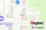 Схема проезда до компании АнБи в Москве