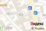 Схема проезда до компании РСУ №1 в Москве