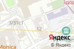 Схема проезда до компании Офицеры России в Москве