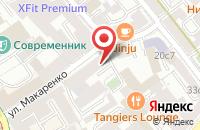 Схема проезда до компании Виртуал Софт в Москве