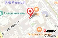 Схема проезда до компании Диал Пластикс в Москве