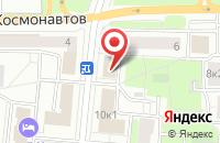 Схема проезда до компании Синтезплюс в Москве