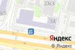 Схема проезда до компании ТЕСКАН в Москве