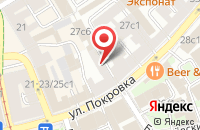 Схема проезда до компании Брэндшип в Москве