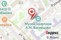 Схема проезда до компании Сибирь в Москве