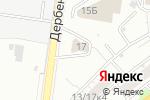 Схема проезда до компании Шиномонтажная мастерская на Дербеневской в Москве