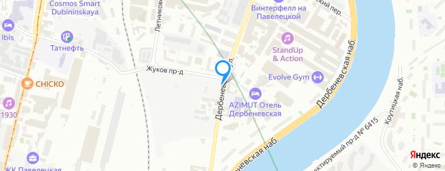 Дербеневская улица