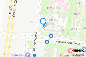 Сдается однокомнатная квартира в Москве Кавказский б-р, 50