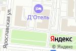 Схема проезда до компании SerpTop в Москве